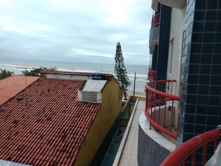 Apartamento pé na areia - Itanhaém