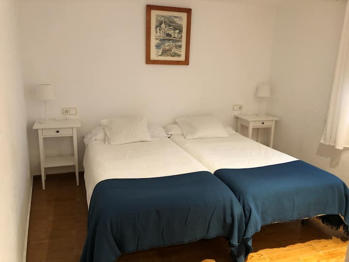 Double private room in a lovely part of Cadaqués