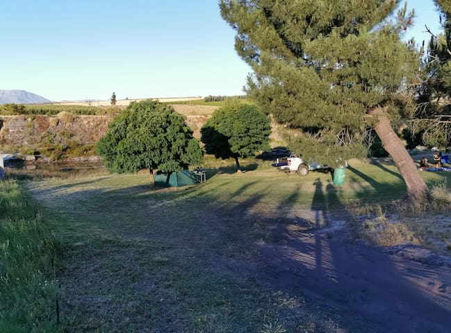 Private camping in Ceres!