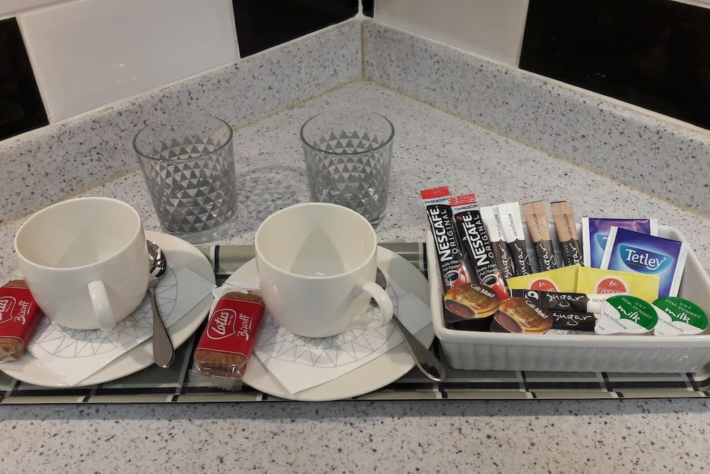 Coffees & Tea's provided in room