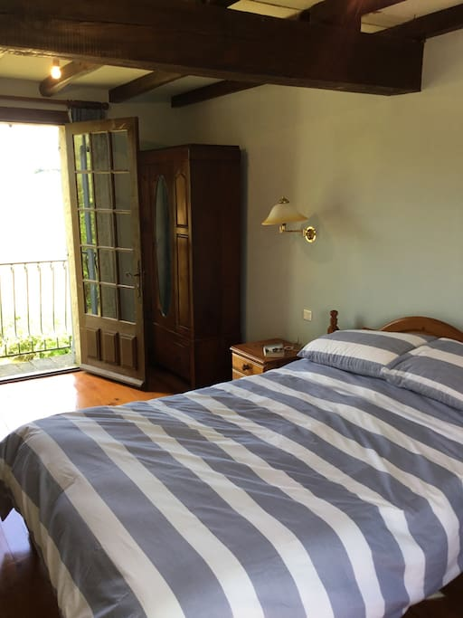 Dual aspect room with views over the Mill pond and adjoining fields