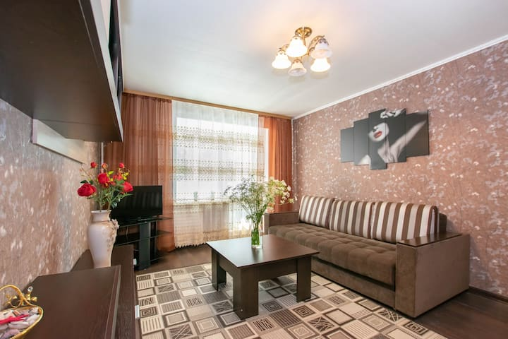 Apartments on Pushkina St. 13