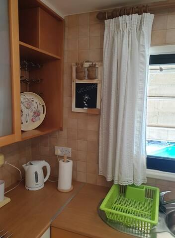Λεπτομέρεια της κουζίνας / Kitchen detail