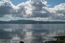 Bowmore across Lochindaal
