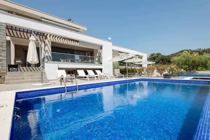 Afisia Magnum Pool Villa IV, Sarti