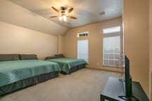 Another Upstairs Bed Room; 2 King Beds