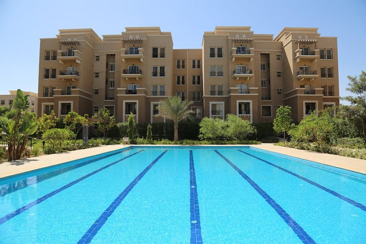 Super Modern flat in Katameyya plaza - New Cairo