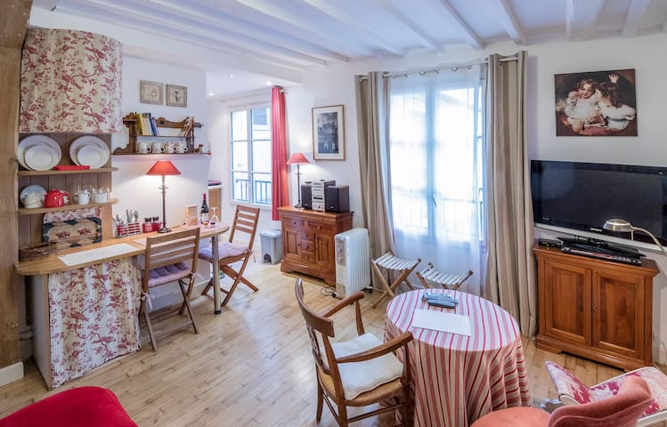 Calme et charme au centre de Paris - Paris - Apartment