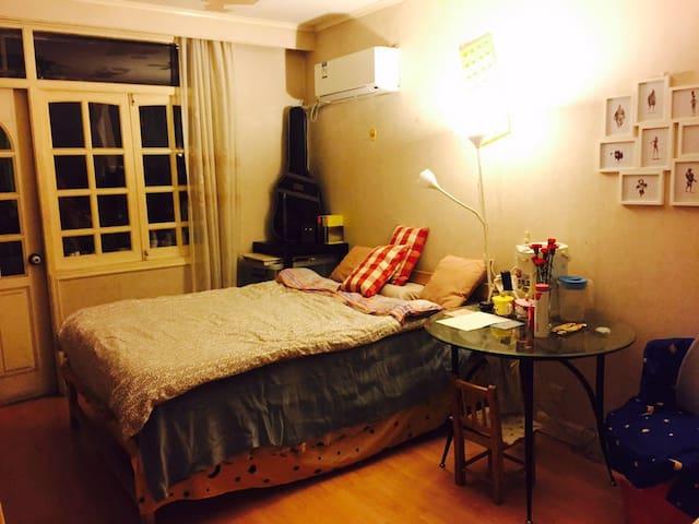 靠近地铁13号/3号/4号线的暖心卧室。 - Shanghai - Condominium