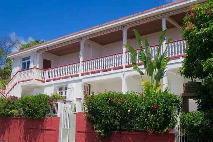 Gîtes Dardanelle Arbre du voyageur - Bouillante - Apartment