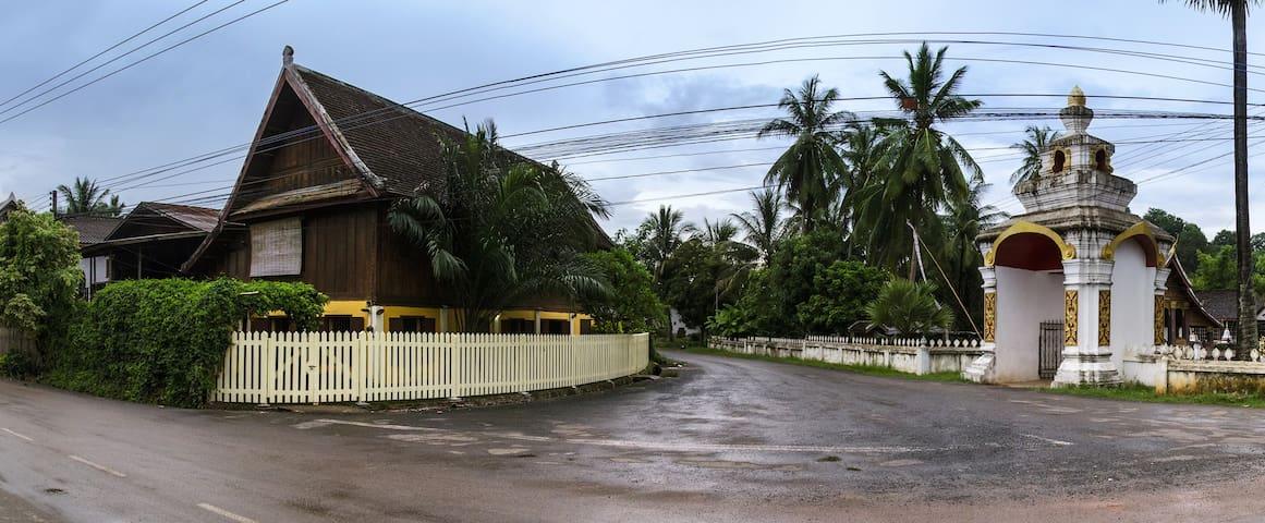 Spacious Heritage house - Luang Prabang - Dom