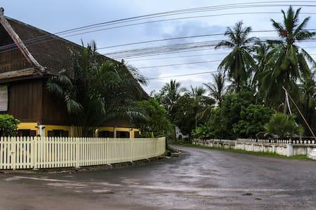 Spacious Heritage house - Luang Prabang