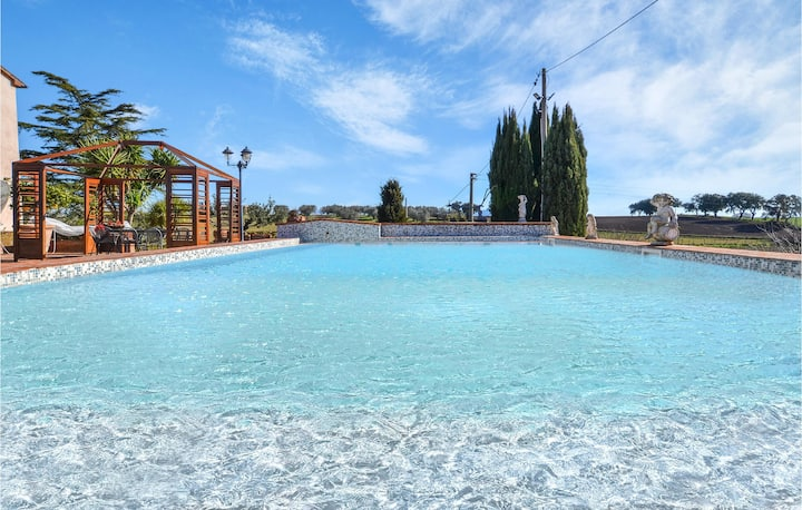 Amazing home in Tuscania with Outdoor swimming pool, Sauna and WiFi