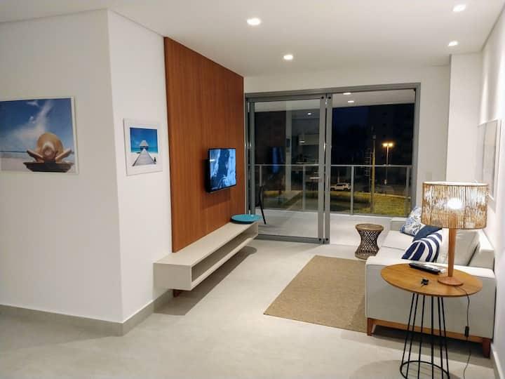 Apartamento alto padrão, lindo, vista mar