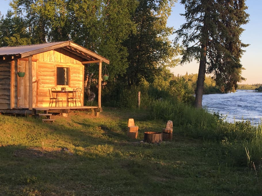 Tokosha camp fireweed cabin cottages for rent in Cottages of camp creek