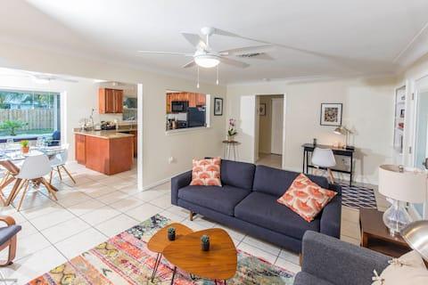 Sunshine House, vicino a Downtown Sarasota