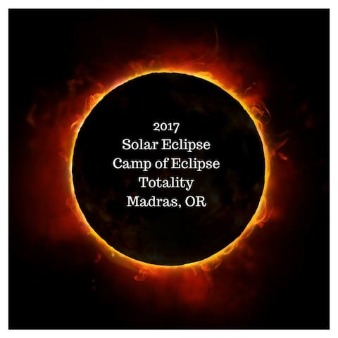 Camp of Eclipse Totality RV Space 1 - Madras