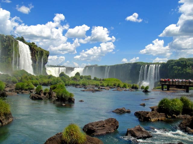 cataratas do iguaçu , quintal de casa - Foz do Iguaçu