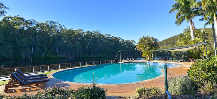 Country holiday complex at Gold Coast