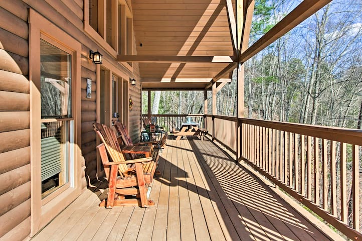 Enjoy the wilderness views at this charming Sevierville vacation rental home!