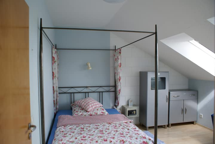 Appartement mit Himmelbett