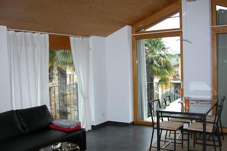 Apartment-Ticino: Malcantone  9 Km von Lugano - Pura