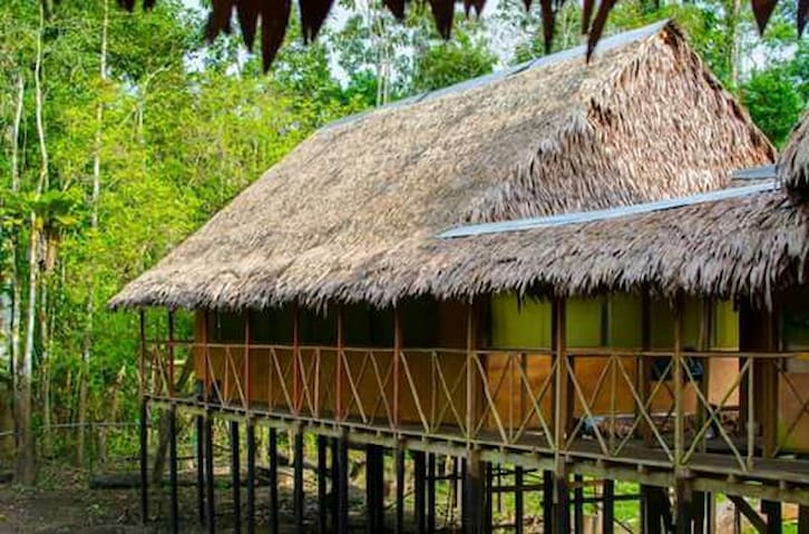 Lupuna lodge and tours - indiana-rio yanayacu - Casa