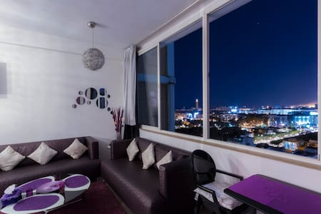 Lovely Studio With Panoramic View - Casablanca - Departamento