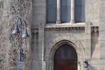 Church down the street