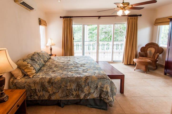 bedroom 1 - Master Suite (wrap-around balcony)