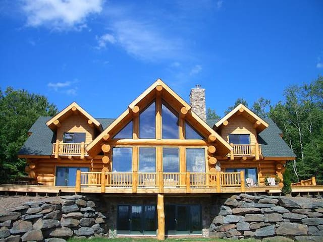Luxury Log Home with Ski Windham Views - Windham