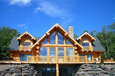 Luxury Log Home with Ski Windham Views - Windham - Dům
