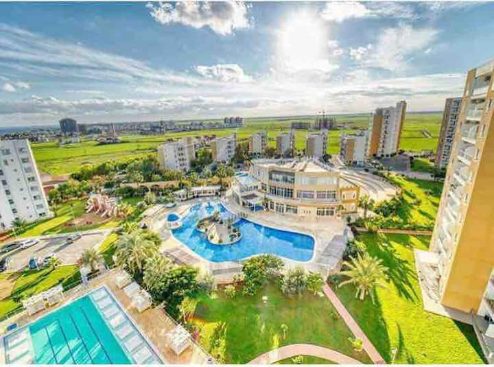 pool viewed apartment with 2 bedrooms in caesar