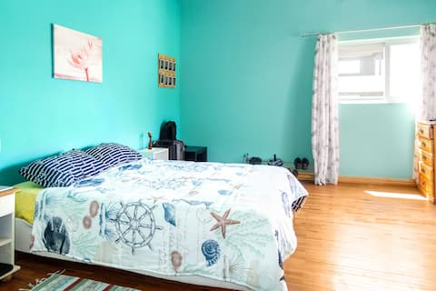 Charming BR Near Beach & Bus Stop – 15 Min Walk