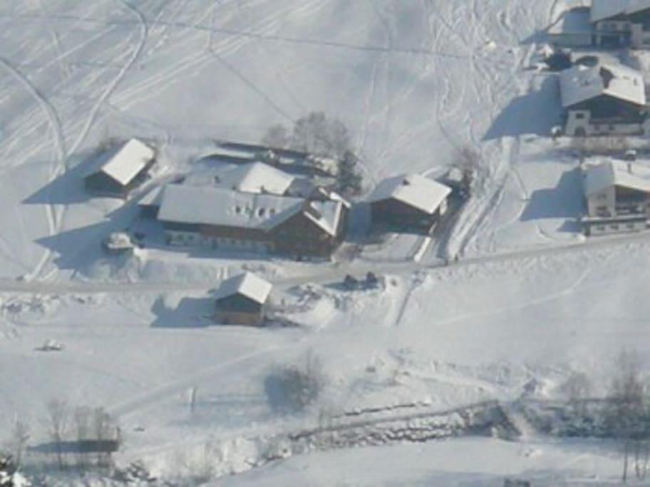 Föhrenhof im Winter