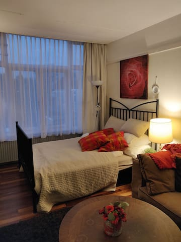 Gezellig appartement in Wassenaar bij uitvalsweg