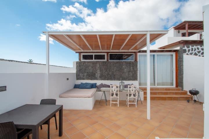 Blue Loft @Lizard Complex, Loft moderno con Terraza