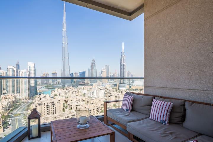 Downtown Luxury 2 Bed - Burj views - Dubai - Appartement