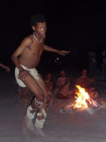 A true kalahari experience!