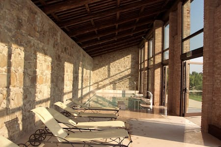 Granaio - Stunning ancient castle with heated pool - Provincia di Padova - Istana