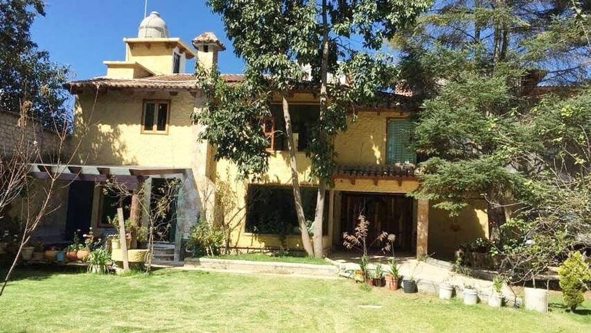 Casa Pavo Real - Habitacion y Jardín deluxe
