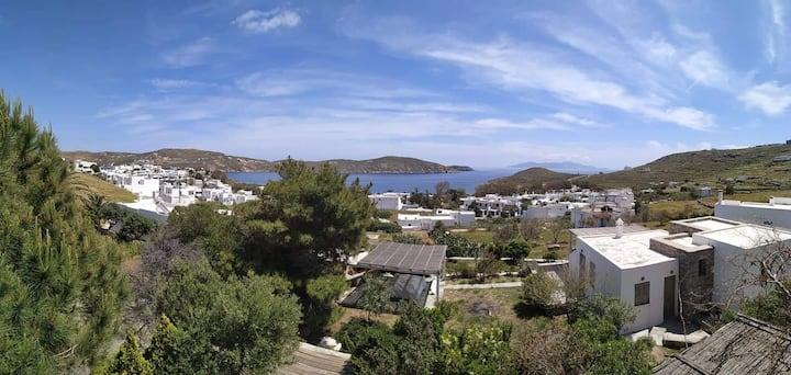 Σέριφος σπίτι με θέα θάλασσα