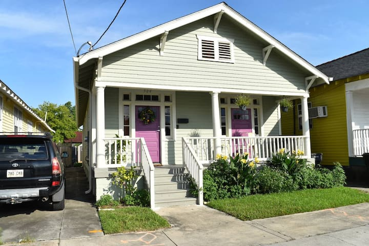 Big Easy Bungalow near the Canal Streetcar
