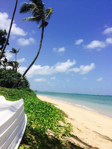 Be on a gorgeous beach in Punaluu ! - Hauula - Daire