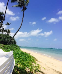 Be on a gorgeous beach in Punaluu ! - Daire