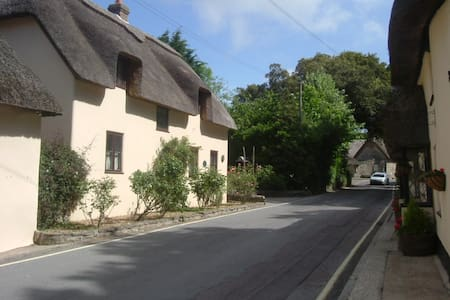 Thatched Cottage, 10 minutes walk from sea