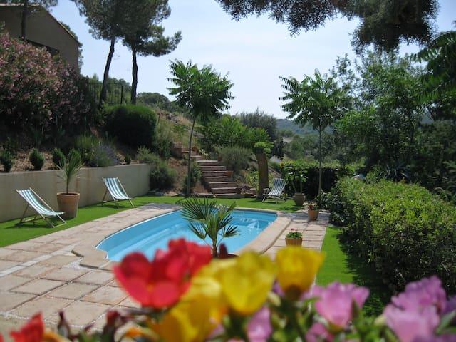 Cottage mediterranéen au sud de la france