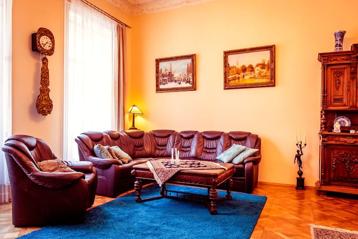 living room and sofa