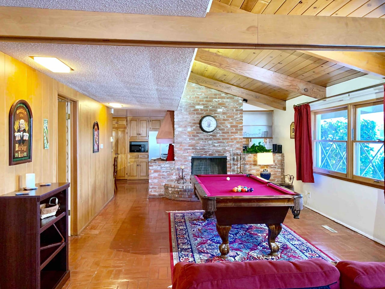 Large family room and gaming area