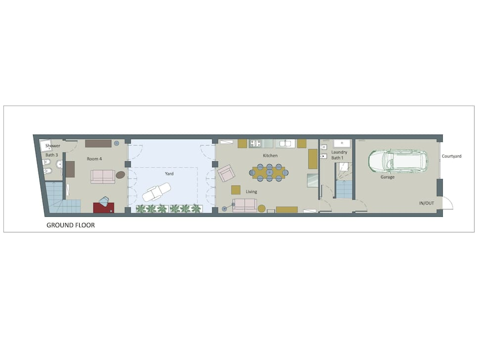 Casa duplex indipendente con patio case in affitto a for Patio indipendente casa